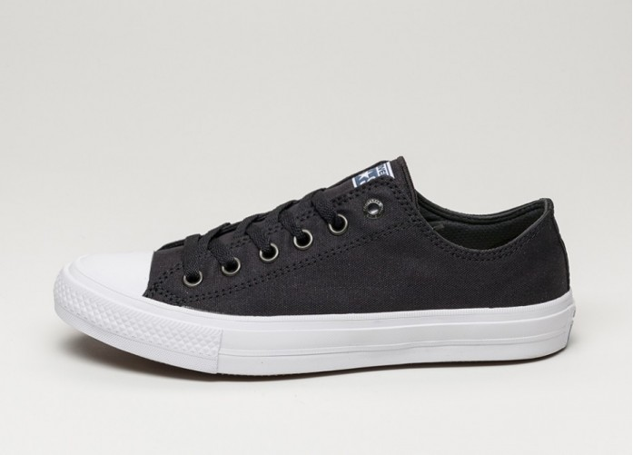 Мужские кроссовки Converse Chuck Taylor All Star II Ox (Black / White / Navy) | Интернет-магазин Sole