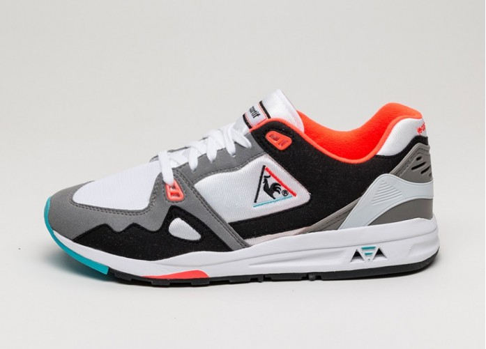 Мужские кроссовки Le Coq Sportif R1000 Original (Optical White) | Интернет-магазин Sole