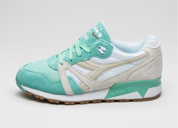 Мужские кроссовки Diadora N9000 NYL (Ice Green / Beige Birch) | Интернет-магазин Sole