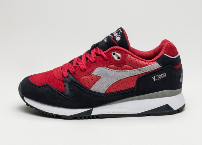 Мужские кроссовки Diadora V7000 Premium (Chili Pepper / Nine Iron) | Интернет-магазин Sole
