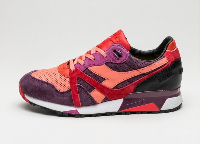 Мужские кроссовки Diadora x Extra Butter N9000 *Giallo* (Red / Lollipop) | Интернет-магазин Sole