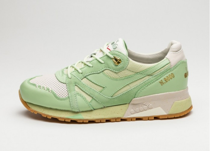 Мужские кроссовки Diadora x Feature N9000 *Pistacchio Ice Cream* (Lake Green) | Интернет-магазин Sole