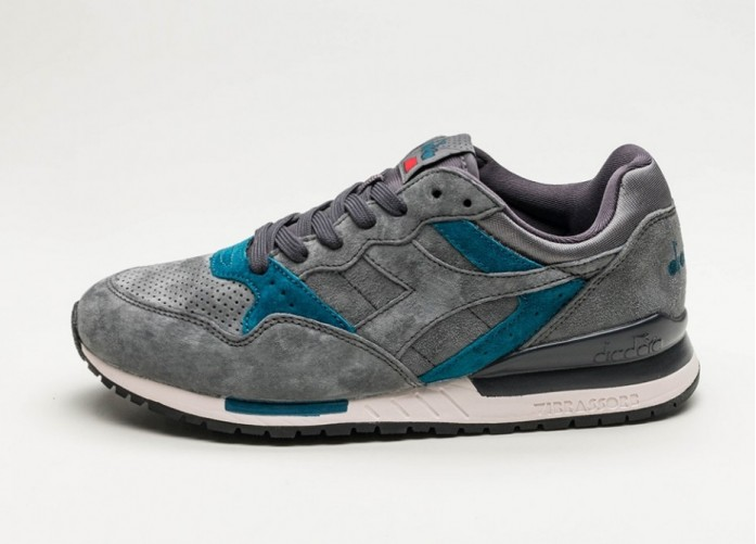 Мужские кроссовки Diadora Intrepid Premium (Castle Rock / Nine Iron / Lyons Blue) | Интернет-магазин Sole
