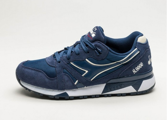 Мужские кроссовки Diadora N9000 III (Estate Blue / Antique White) | Интернет-магазин Sole