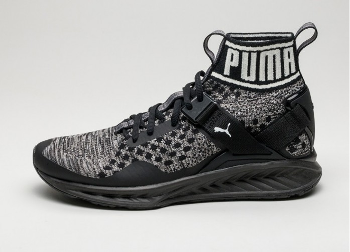 Мужские кроссовки Puma Ignite Evoknit (Core Black / Quiet Shade / Black) | Интернет-магазин Sole