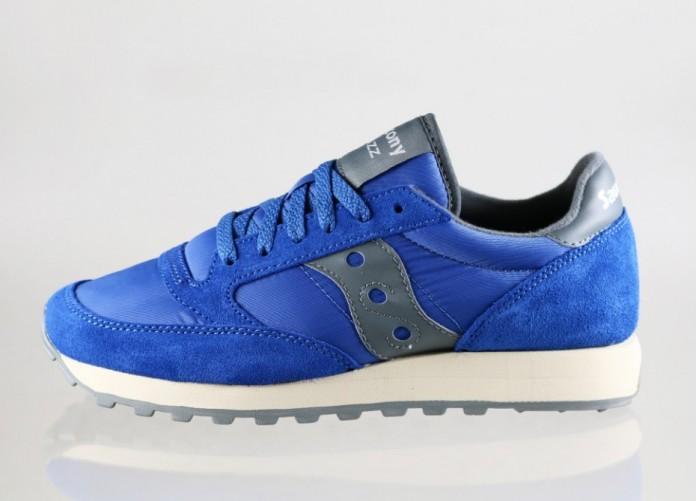 Мужские кроссовки Saucony Jazz (Blue / Grey) | Интернет-магазин Sole