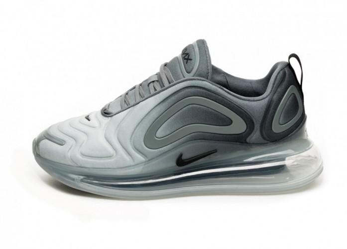 Кроссовки Nike Air Max 720 (Cool Grey / Black - Wolf Grey) | Интернет-магазин Sole