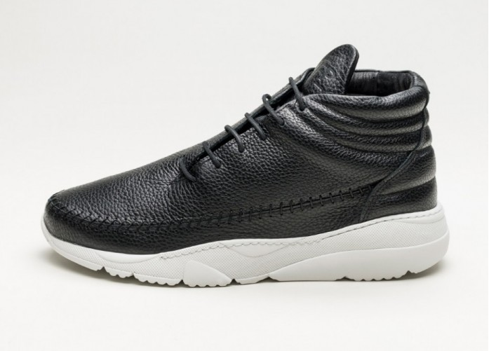 Мужские кроссовки Filling Pieces Apache Runner Mid (Black / White) | Интернет-магазин Sole