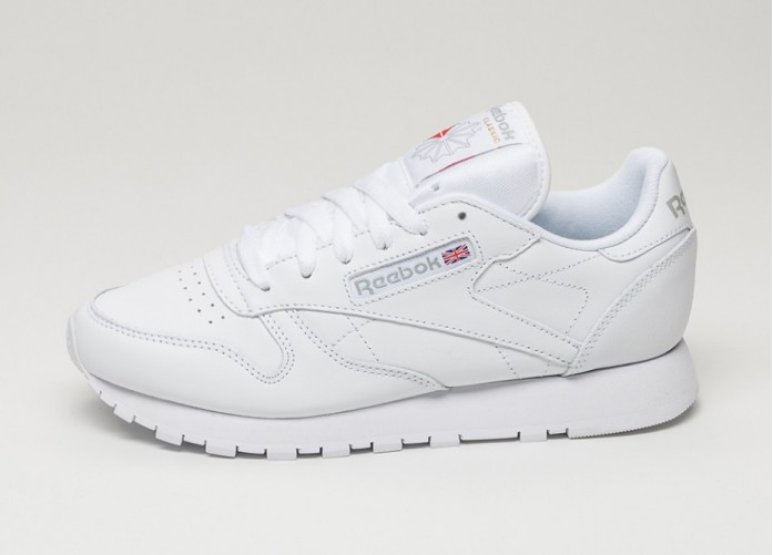 Мужские кроссовки Reebok Classic Leather (White) | Интернет-магазин Sole