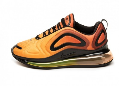 Кроссовки Nike Air Max 720 (Total Orange / Black - Laser Orange)