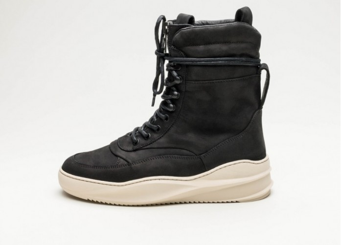 Мужские кроссовки Filling Pieces High Field Boot Sky Tsaatan (Black) | Интернет-магазин Sole