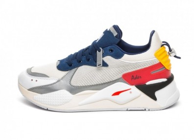 Кроссовки Puma x ADER Error RS-X (Whisper White - Blueprint - Puma Red)