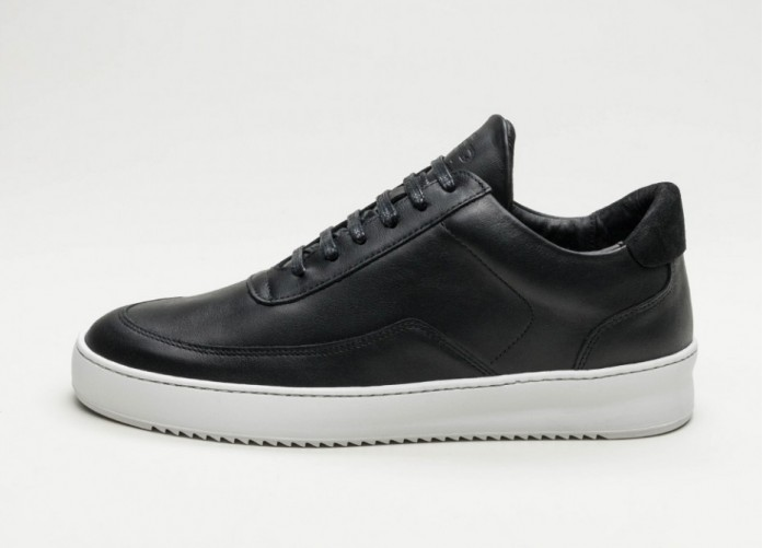 Мужские кроссовки Filling Pieces Low Mondo Ripple Nardo (All Black) | Интернет-магазин Sole