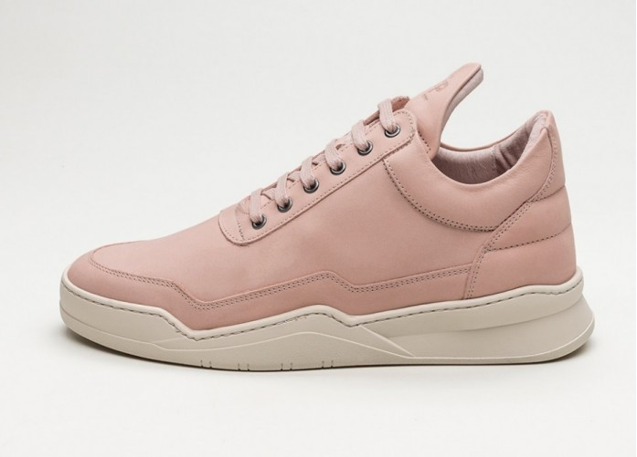 Мужские кроссовки Filling Pieces Low Top Ghost Lane (Light Pink) | Интернет-магазин Sole