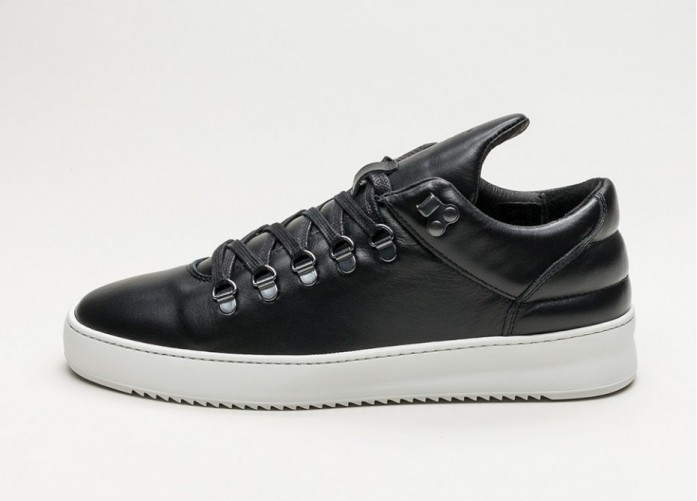 Мужские кроссовки Filling Pieces Mountain Cut Fundament Ripple Basic (Black) | Интернет-магазин Sole