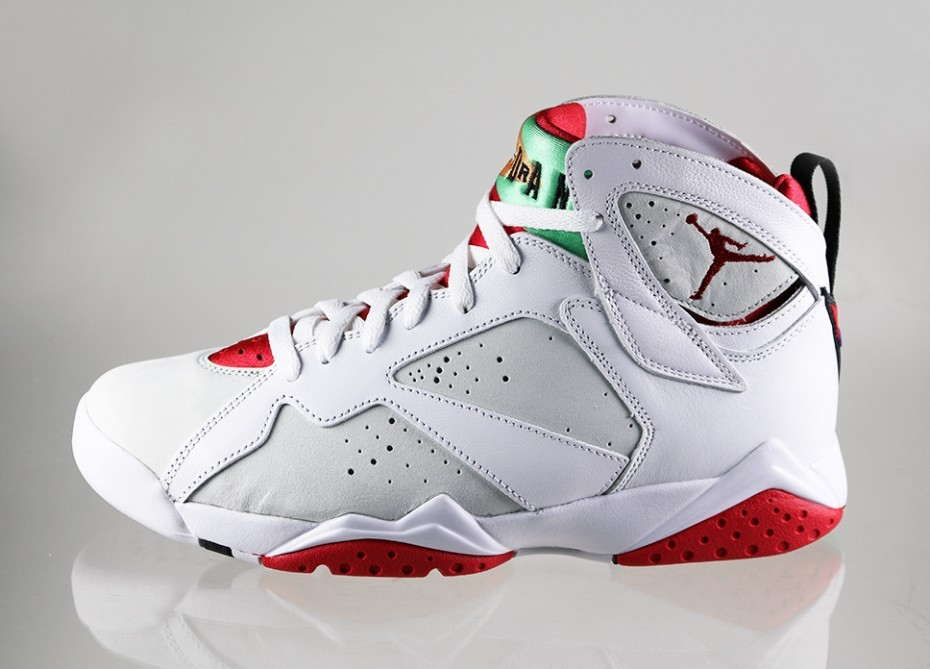 Мужские кроссовки Nike Air Jordan 7 Retro  Hare  (white   true red ... 2d4dbb7eb2c