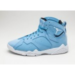 Мужские кроссовки Nike Air Jordan 7 Retro *Pantone* (University Blue / White - White - Black), фото 1 | Интернет-магазин Sole