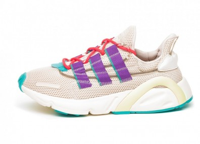 Кроссовки adidas LXCON (Clear Brown / Active Purple / Shock Red)