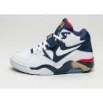 Мужские кроссовки Nike Air Force 180 *Olympic* (White / White - Midnight Navy - Metallic Gold), фото 1 | Интернет-магазин Sole