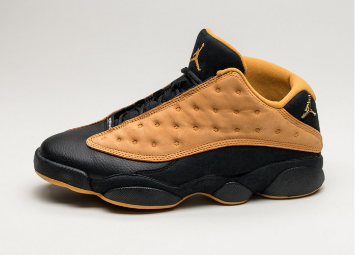Мужские кроссовки Nike Air Jordan 13 Retro Low *Chutney* (Black / Chutney) | Интернет-магазин Sole