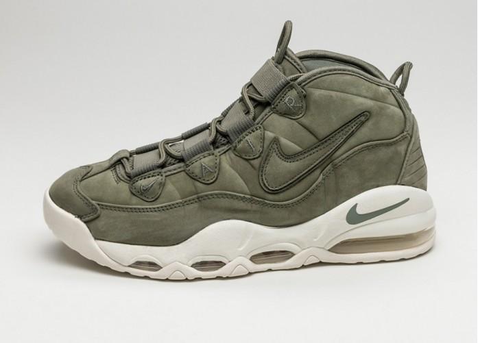 Мужские кроссовки Nike Air Max Uptempo (Urban Haze / Urban Haze - White) | Интернет-магазин Sole