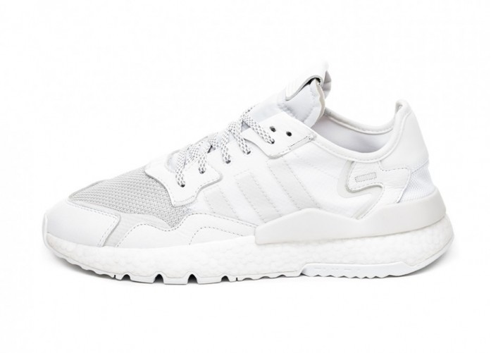 Кроссовки adidas Nite Jogger (Ftwr White / Crystal White / Crystal White) | Интернет-магазин Sole