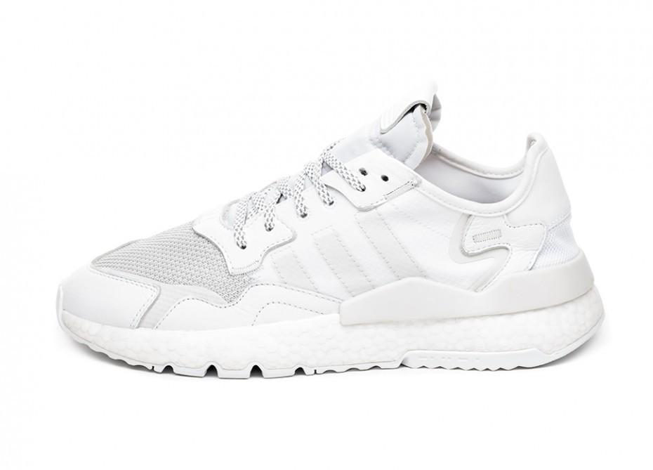 c50a9b55 Кроссовки adidas Nite Jogger (Ftwr White / Crystal White / Crystal White) |  Интернет