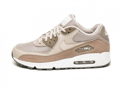 807736a4 Кроссовки Nike Air Max 90 Essential (Moon Particle / White - Sepia Stone -  Gunsmoke