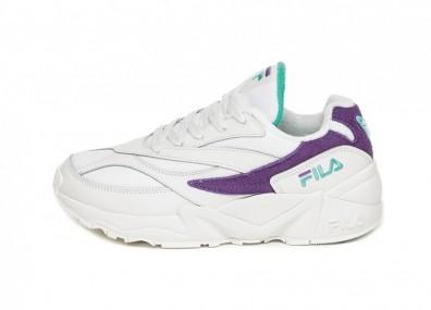 Кроссовки FILA V94 M Low Wmn (White / Violet Tulip / Clue Curant)