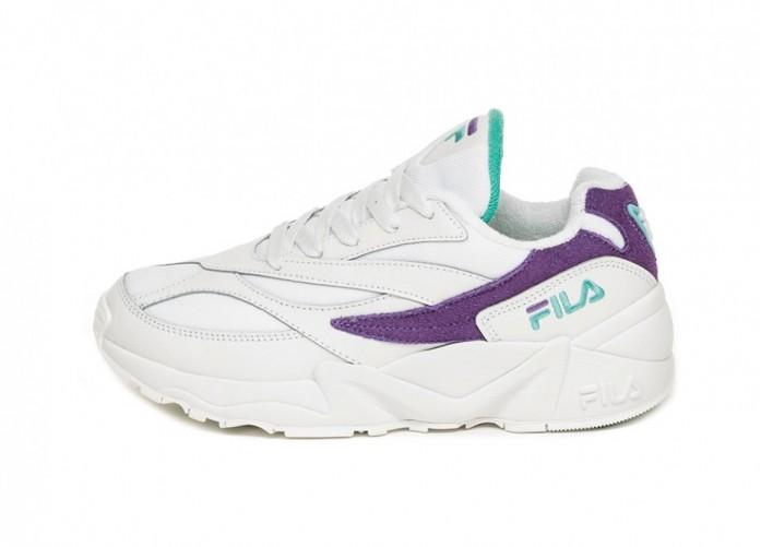 Кроссовки FILA V94 M Low Wmn (White / Violet Tulip / Clue Curant) | Интернет-магазин Sole