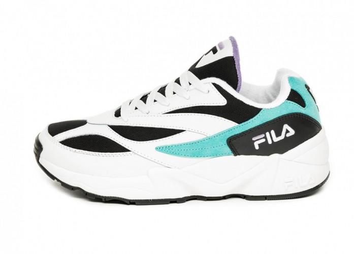 Кроссовки FILA V94 M Low (Black / Blue Curacao / Violet) | Интернет-магазин Sole