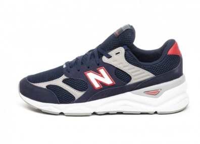 Кроссовки New Balance MSX90TBH (Navy / Red)