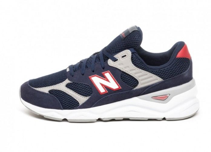 Кроссовки New Balance MSX90TBH (Navy / Red) | Интернет-магазин Sole