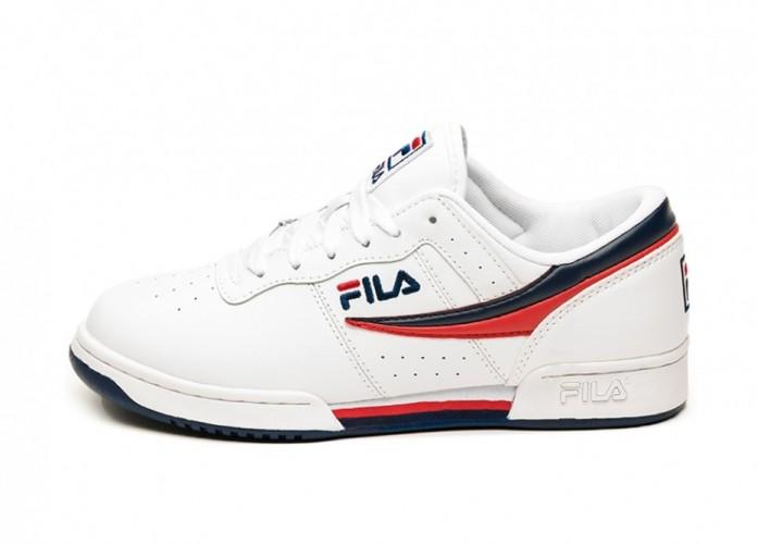 Кроссовки FILA Original Fitness (White / Fila Navy / Fila Red) | Интернет-магазин Sole