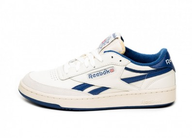 Кроссовки Reebok Revenge Plus Vintage (Chalk / Paperwhite / Royal Blue / Red)