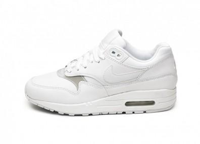 Кроссовки Nike Wmns Air Max 1 (White / White - White)