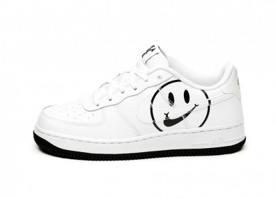 Кроссовки Nike Air Force 1 LV8 2 (GS) *Have A Nike Day* (White / White - Black)