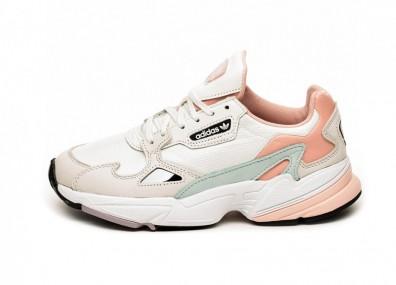 Кроссовки adidas Falcon W (White Tint / Raw White / Trace Pink)