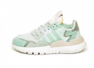 Кроссовки adidas Nite Jogger W (Clear Mint / Raw White)