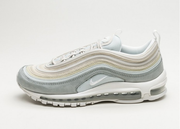 Мужские кроссовки Nike Air Max 97 PRM (Light Pumice / Summit White - Summit White) | Интернет-магазин Sole