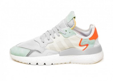 Кроссовки adidas Nite Jogger (Raw White / Grey One / Vapour Green)