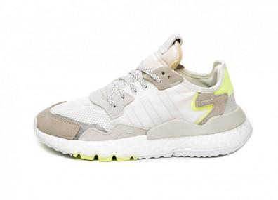Кроссовки adidas Nite Jogger W (Off White / Ftwr White / Hi Res Yellow)