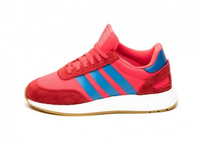 Кроссовки adidas I-5923 W (Shock Red / True Blue / Gum)