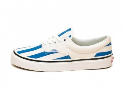 Кроссовки Vans Era 95 DX *Anaheim Factory* (OG White / OG Blue / Big Stripes)