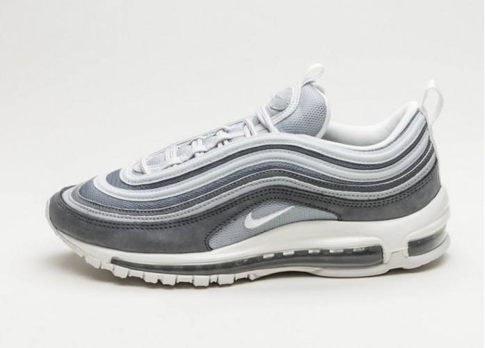 Мужские кроссовки Nike Air Max 97 PRM (Wolf Grey / Summit White - Dark Grey) | Интернет-магазин Sole