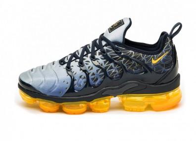 Кроссовки Nike Air Vapormax Plus (Obsidian / Laser Orange - Indigo Storm)