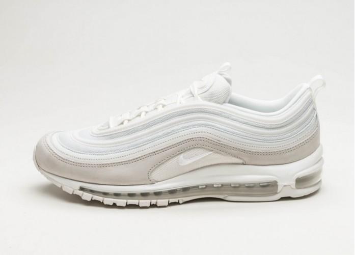 Мужские кроссовки Nike Air Max 97 PRM (Light Bone / Summit White - Summit White) | Интернет-магазин Sole