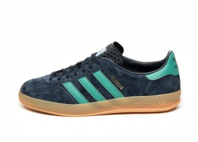 Кроссовки adidas Gazelle Indoor (Collegiate Navy / Active Green / Blue Bird)
