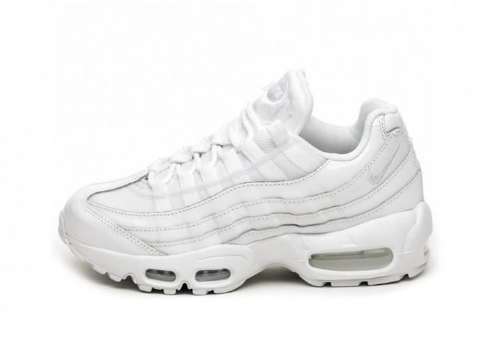 Кроссовки Nike Wmns Air Max 95 (White / White - White)   Интернет-магазин Sole