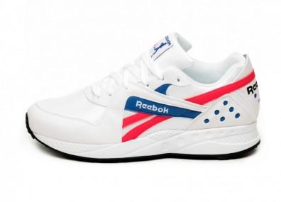 Кроссовки Reebok Pyro (White / Neon Red / Cobalt)
